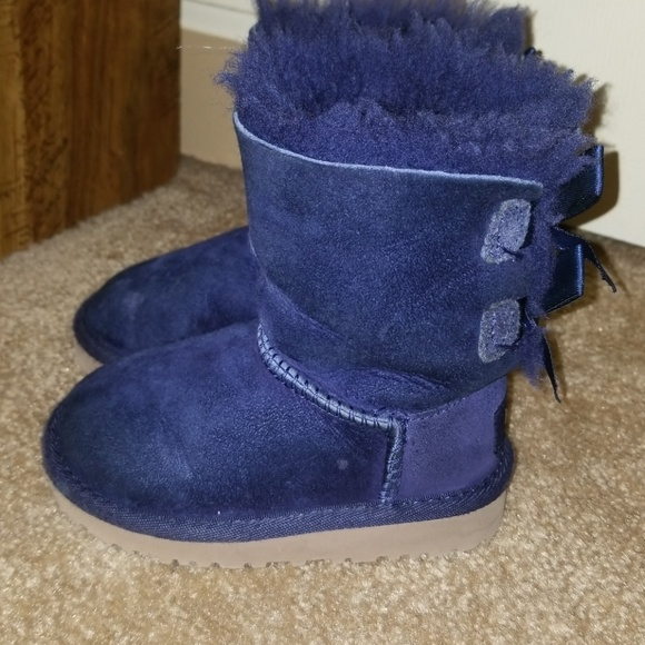 Toddler Girl Ugg Navy Blue Ugg Boots size 6